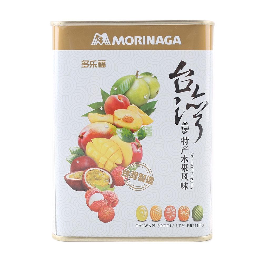 森永多乐福水果糖(台湾特产水果风味)180g——台湾进口
